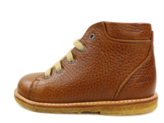 Angulus winter toddler shoe cognac with woollining