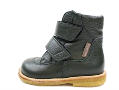 Angulus winter boot dark green with TEX