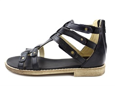 Arauto RAP sandal black with velcro and zipper