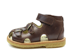 Arauto RAP sandal tusc. Dark Brown with buckles and velcro