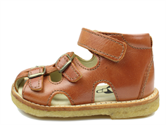 Arauto RAP sandal eco cognac with buckles and velcro
