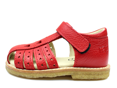 Arauto RAP sandal red with hearts