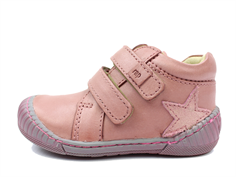 Arauto RAP shoes pink with velcro