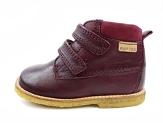 Arauto RAP winter boot bordo with velcro and TEX