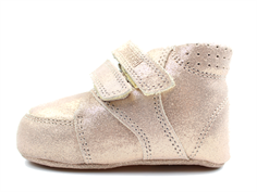 Bundgaard Prewalker rose gold glitter with velcro