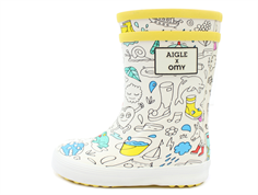 Aigle Baby Flac rubber boot omy