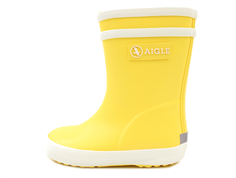 Aigle Baby Flac rubber boot jaune new