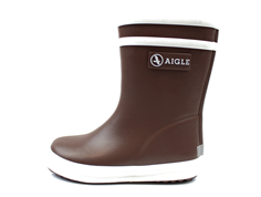Aigle Baby Flac rubber boots marron
