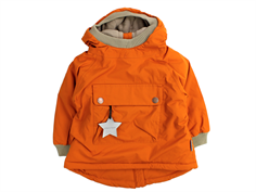 Mini A Ture winter jacket Baby Wen autumnal brown