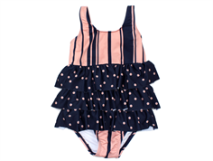 Small Rags swimsuit navy blue iris