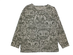 Soft Gallery Bella t-shirt owl vetiver