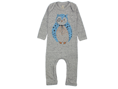 Soft Gallery Ben coveralls neppy gray melange professor