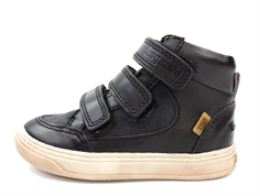 Bisgaard sneaker/boot black with velcro and TEX