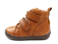 Bisgaard wintershoes brandy with velcro and TEX