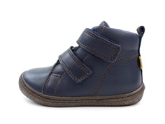 Bisgaard wintershoes navy with velcro and TEX