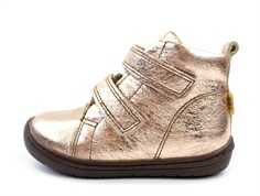 Bisgaard wintershoes rose gold with velcro and TEX