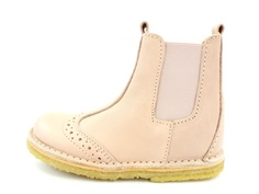 Bisgaard ancle boot nude with elastic