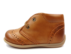 Bisgaard toddler shoe cognac with laces