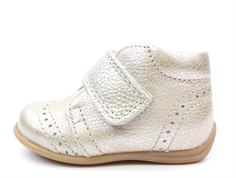 Bisgaard toddler shoe silver with velcro