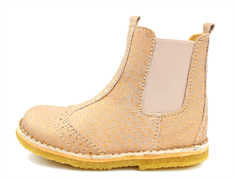 Bisgaard ancle boot nude square elastic
