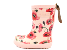 Bisgaard rubber boot nude flowers