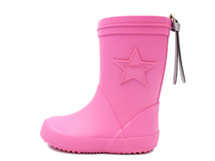 Bisgaard star rubber boot pink