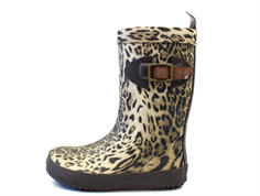 Bisgaard Scandinavia rubber boot leopard with buckle