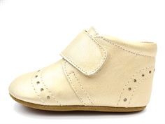 Bisgaard slippers gold dot pattern