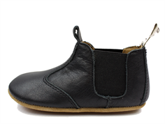 Bisgaard slippers black with elastic
