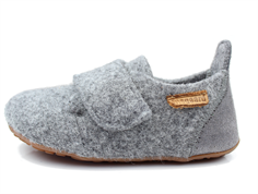 Bisgaard gray slippers with velcro
