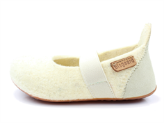 Bisgaard slippers cream with elastic
