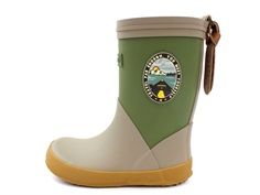 Bisgaard rubber boot green/beige with badge