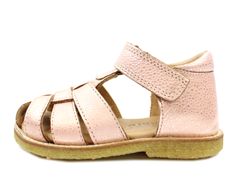 Bisgaard sandal blush with velcro
