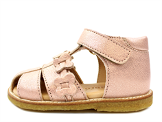 Bisgaard sandals rose gold with velcro