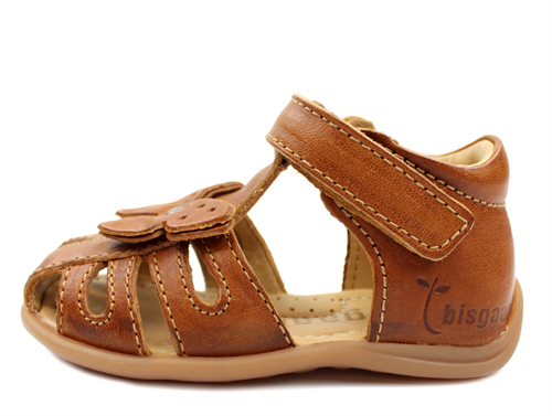 1ad897e8 Buy Bisgaard sandal cognac with butterfly at MilkyWalk
