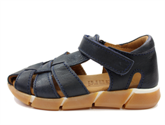 Bisgaard sandal blue with velcro