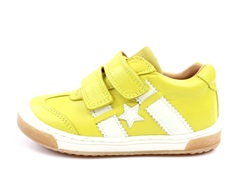 Bisgaard shoes yellow with star and stripes
