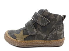 Bisgaard leather boot camouflage with star