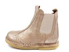 Bisgaard ancle boot gold with elastic
