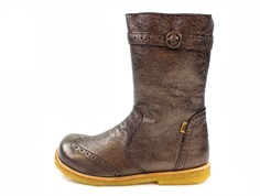 Bisgaard winter boot charcoal with zipper and TEX