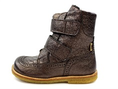 Bisgaard winter boot charcoal with velcro and TEX