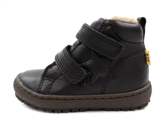 Bisgaard winter toddler shoe black with velcro and TEX