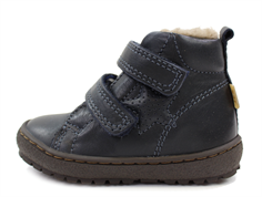 Bisgaard winter toddler shoe blue with velcro and TEX