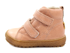 Bisgaard winter toddler shoe nude with velcro and TEX