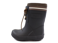 Bisgaard winter rubber boot lace black with wool lining