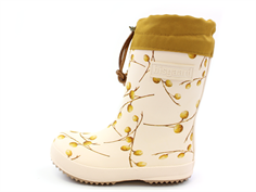 Bisgaard winter rubber boot longan fruit with woollining