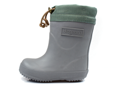 Bisgaard winter rubber boot gray with wool