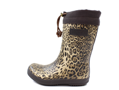 Bisgaard winter rubber boot leopard with woollining