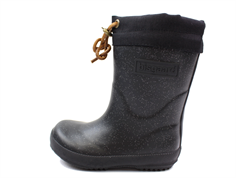 Bisgaard winter rubber boot glitter-black