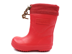 Bisgaard winter rubber boot with red wool